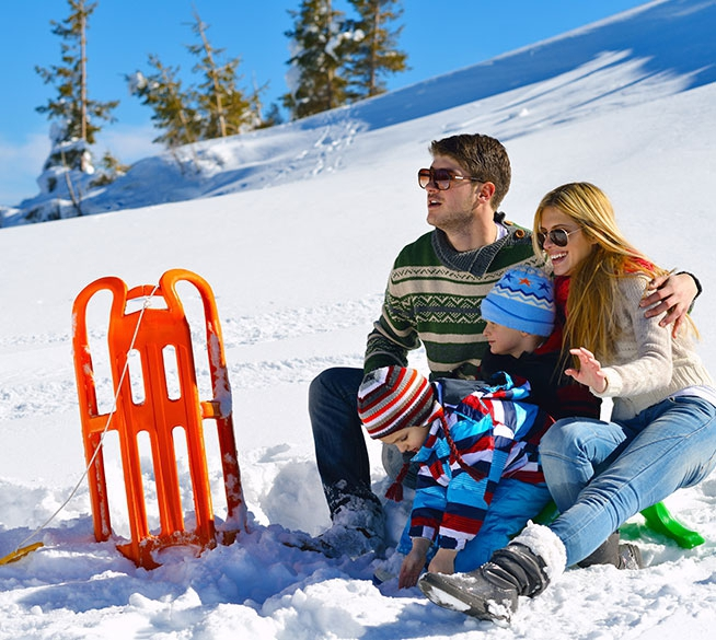 Winter hideaway and active holidays